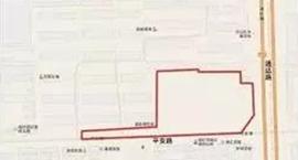 """兰山区米面加工厂家属院棚户区改造项目获批""""临审房预售证第20210074号"""""""